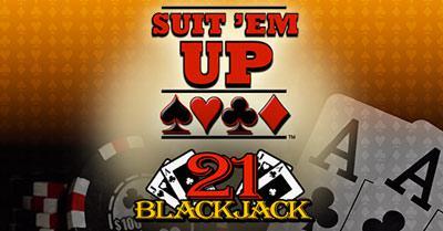 Suit 'Em Up™ Blackjack